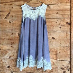 Umgee lace tunic